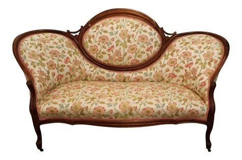 settees ebay antique carved settee loveseat sofa on wheels ebay