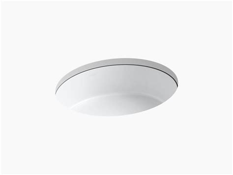 Kohler Verticyl Sink Template by K 2881 Verticyl Undermount Oval Sink Kohler