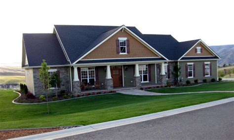 cottage country craftsman house plan