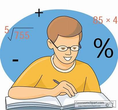 Solving Problem Clipart Mathematics Math Student Cliparts