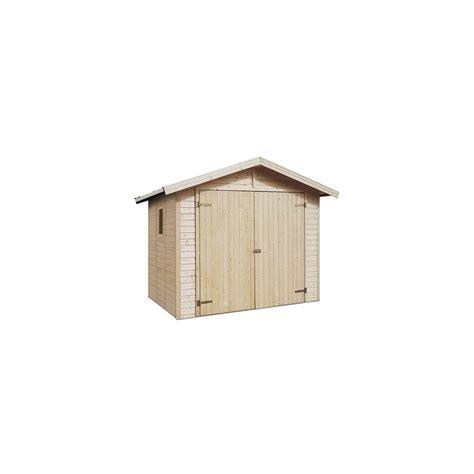 abri de jardin robert 4 20m2 en bois 16 mm avec plancher