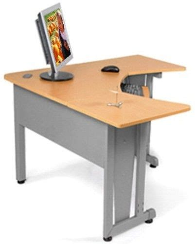 no assembly required desk ofm 55196 rize panel system desk 5 x 5 l shaped