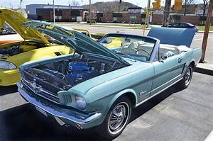 1965 Mustang Convertible Photograph by Paul Mashburn