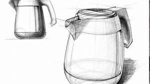 Design Sketch Electric Kettle
