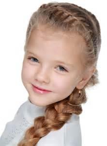Little Girl Side Braids Hairstyles