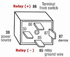 automotive relays and harness diy e r30a diy e r60a diy With 5 pin relay switch