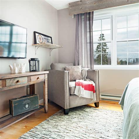 deco chambre chalet chambre rustique comme au chalet chambre inspirations