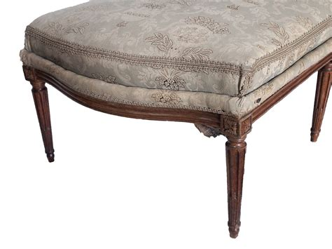 toile chaise longue 18th 19th century louis xvi chaise with toile