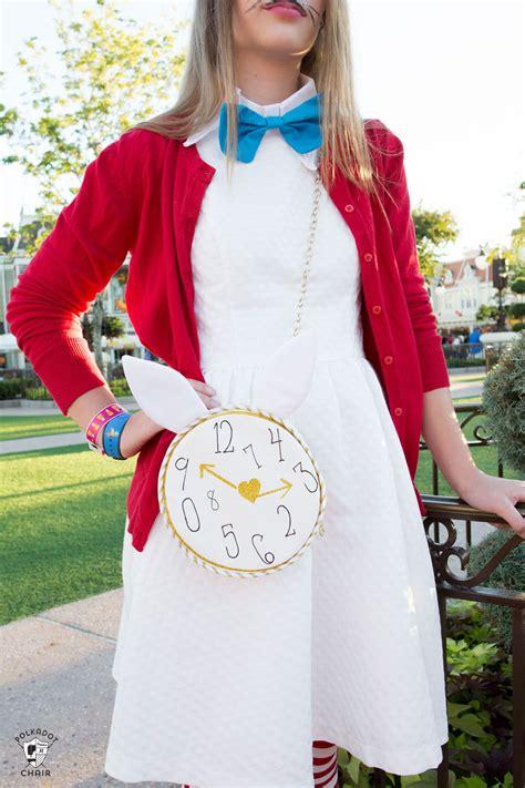 alice bag sewing pattern  polka dot chair