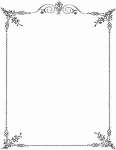 Free Stock Certificate Page Border Clipart Png And Cliparts For Free Download