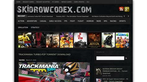 Download latest games skidrow, reloaded, codex games, updates, game cracks, repacks. Skidrow Codex