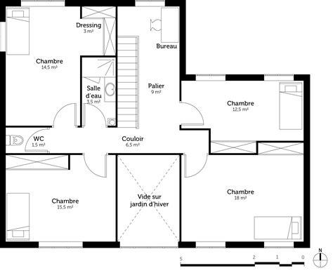 plan 3d chambre plan d 39 une maison en 3d avec 5 chambre maison moderne