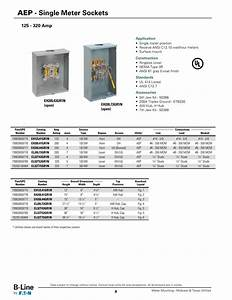 Aep Approved Meter Sockets