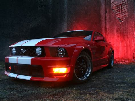 Red And Black Mustang Wallpaper 10 Cool Hd Wallpaper