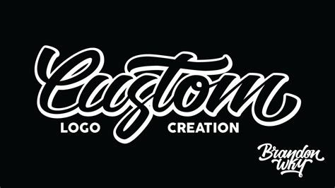tutorial creating a custom typographic logo on illustrator cc youtube