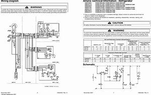 Amana Wiring Diagram Refrigerator