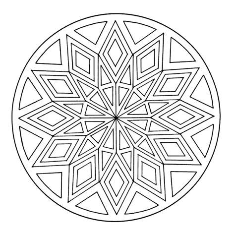 Kleurplaat Mandala Kleuters by Leuk Voor Mandala 0012