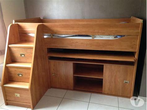 lit avec bureau coulissant lit calypso gautier clasf