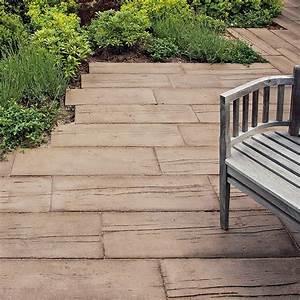 Terrassenplatten Holzoptik Beton : betongstein med trestruktur mahora holzstruktur steine braun steine haus und garten diele ~ A.2002-acura-tl-radio.info Haus und Dekorationen