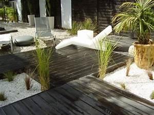 awesome amenagement de jardin exterieur contemporary With good amenagement de jardin avec piscine 0 amenagement jardin suspendu malokoff ile de france