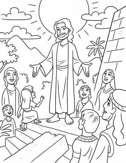 Jesus Nephites Lds Primary