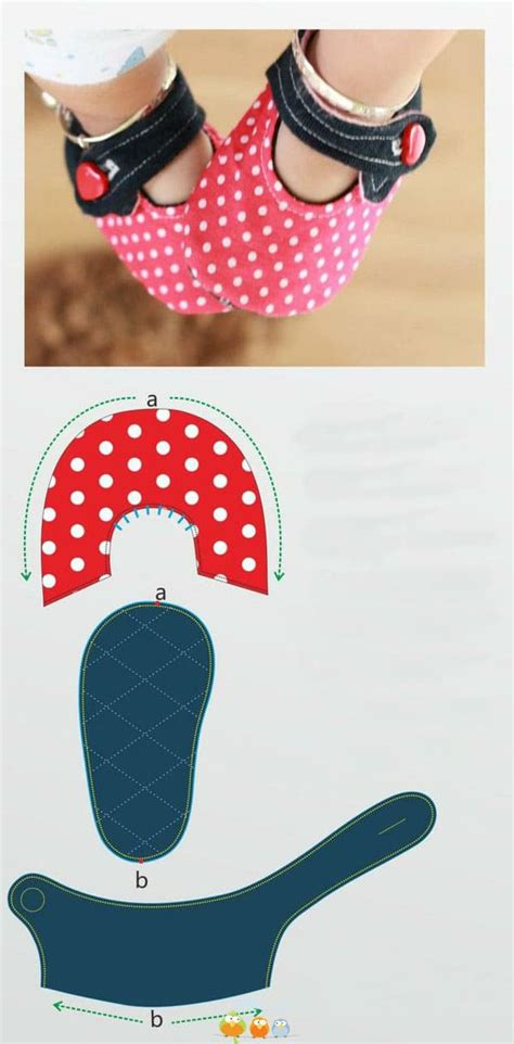 felt baby shoes  pattern  easy video tutorial