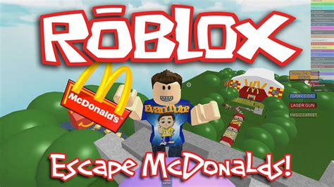 Roblox Escape Mcdonald's!!! Doovi