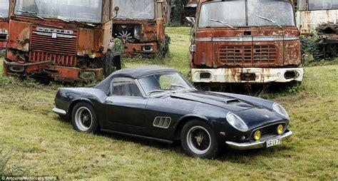 Ferrari And A Rare Maserati Among 60 Classic Cars Found ...