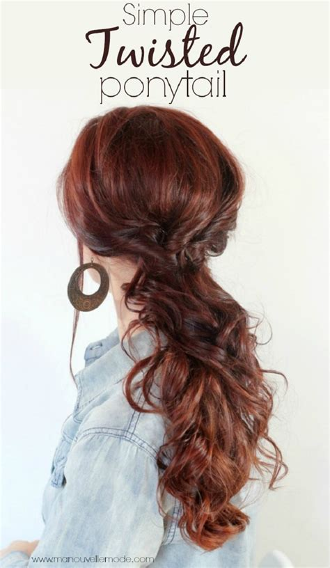 No Heat Hairstyles For Hair by Top 10 Easy No Heat Hairstyles For Medium Or Length