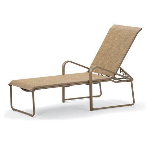 Telescope Chaise Lounge by Telescope Casual Dash Sling Patio Stacking Chaise Lounge