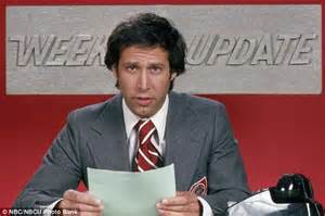 Chevy Chase Saturday Night Live Weekend Update