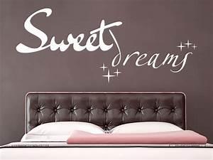 Wandtattoo Sweet Dreams : schlafzimmer wantattoos verzaubern ihre traumwelt ~ Whattoseeinmadrid.com Haus und Dekorationen