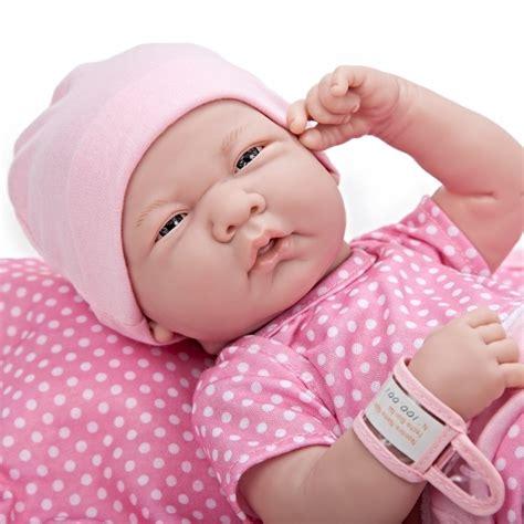 Jc Toys Reborn Newborn Baby Girl Lifelike Doll Real Girl