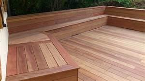 Bois Exotique Pour Terrasse : terrasse en lattes de bois exotique ~ Dailycaller-alerts.com Idées de Décoration