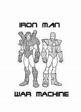 War Coloring Machine Pages Iron Boys Wolverine Viking Deviantart sketch template
