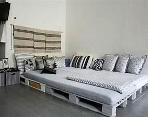 Bett Auf Paletten : noch 64 schlafzimmer ideen f r m bel aus paletten ~ Michelbontemps.com Haus und Dekorationen