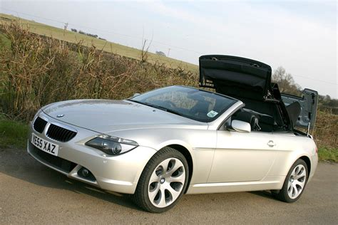 2004 Bmw Convertible by Bmw 6 Series Convertible 2004 2010 Photos Parkers