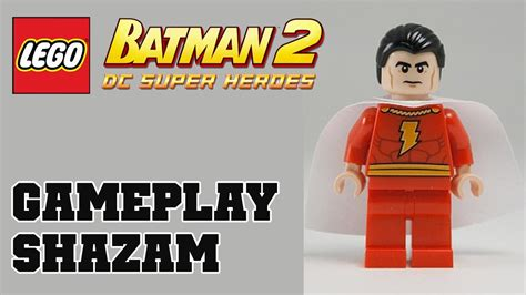 Lego Batman 2 Shazam Dlc Gameplay Commentary