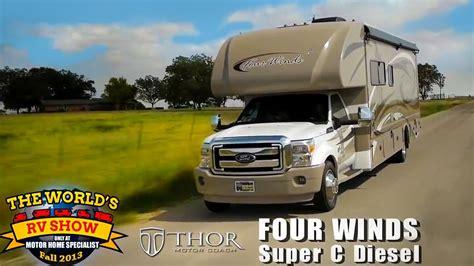 RV Reviews: New Four Winds Class C Diesel Motorhomes