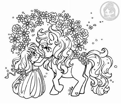 Coloring Yampuff Pages Spring Pony Ponies Deviantart