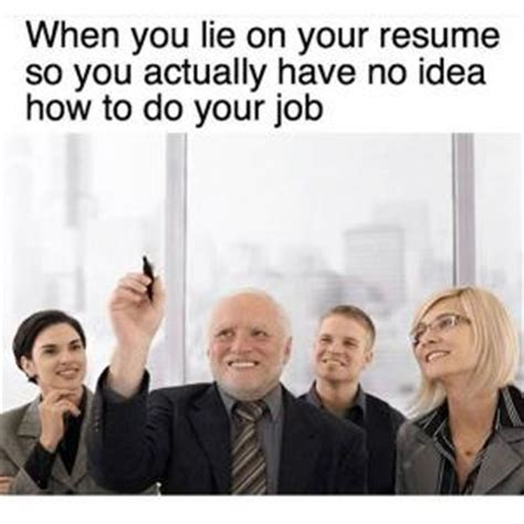 How To Lie On My Resume by Resume Jokes Kappit