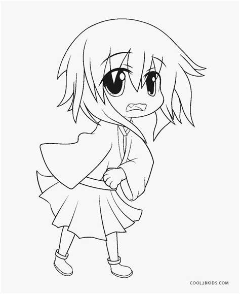 Free Printable Anime Coloring Pages For Kids Cool2bKids