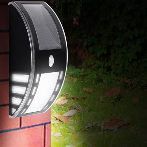 le solar powered led motion sensor lights wireless
