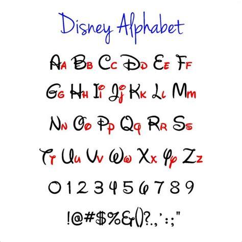 disney alphabet letters  psd eps format   premium templates