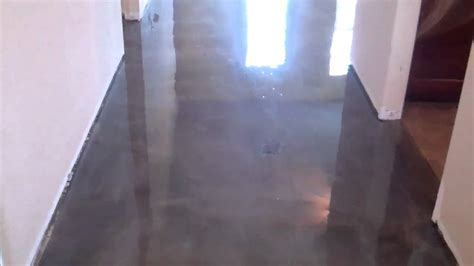 Titanium Reflector Epoxy Floors alternative to Acid