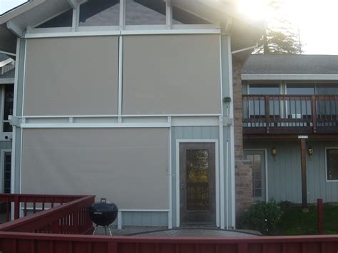 100 electric roll up patio screens best 25 outdoor