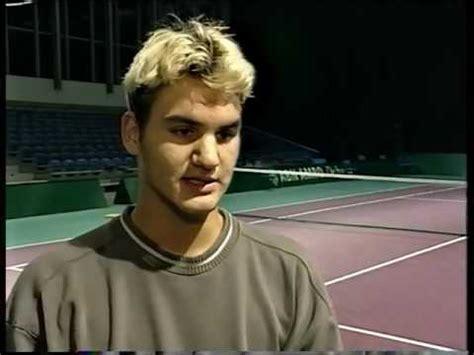 Roger Federer 1999 Interview   YouTube