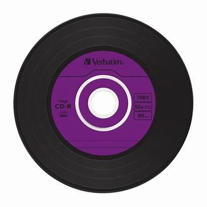 Vinyl Cd Data Disc Surface Azo Verbatim