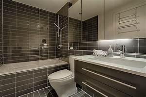 couleur deco tendance 2 carrelage salle de bain With salle de bain 2 couleurs