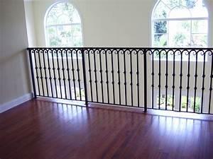 Iron Stair Railings Interior
